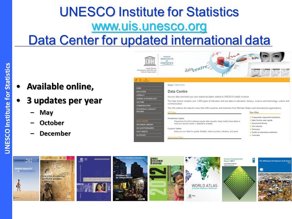 UNESCO Institute for Statistics www.uis.unesco.org
