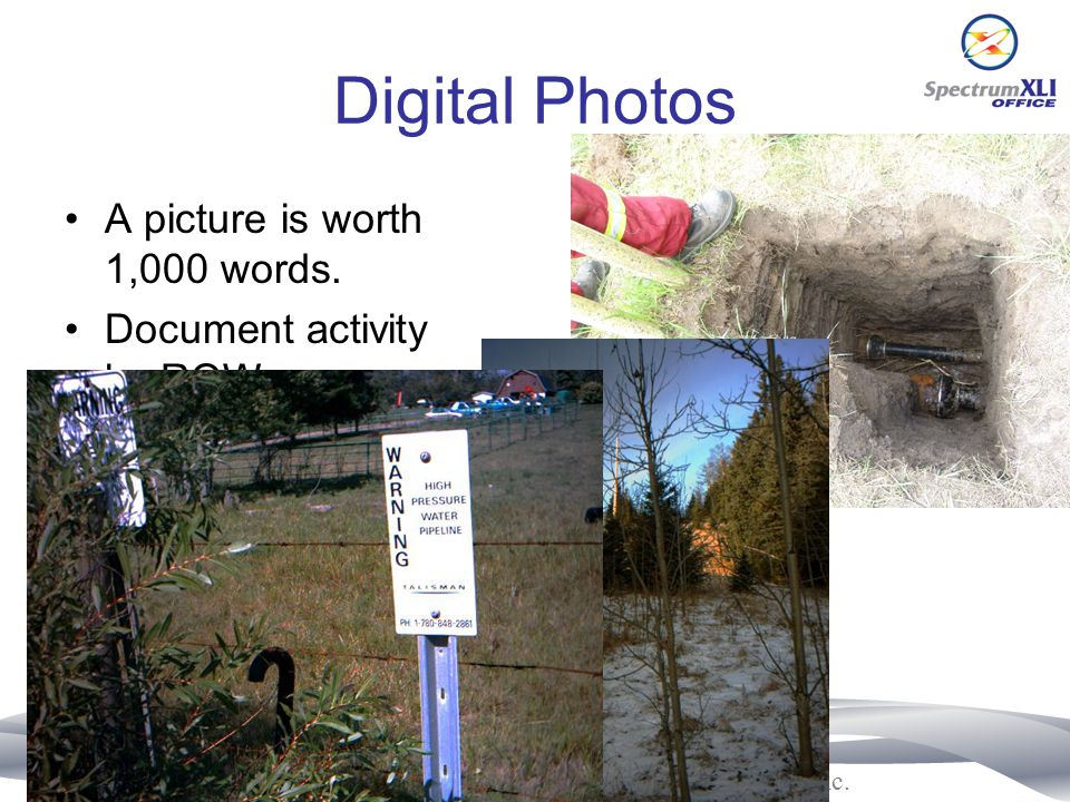 Digital Photos A picture is worth 1,000 words.