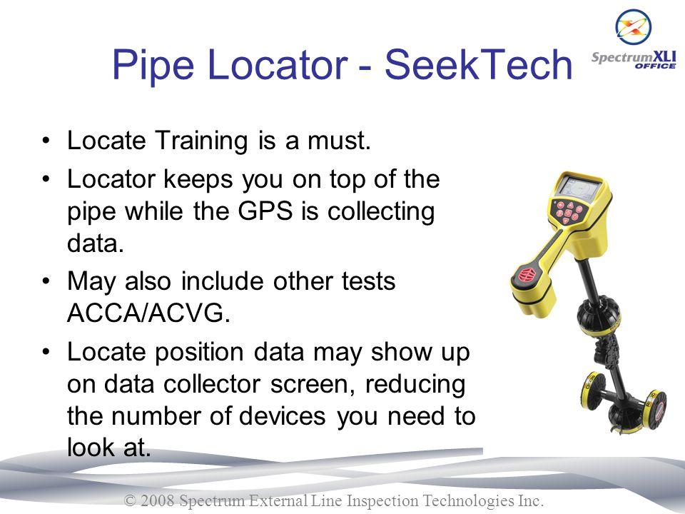 Pipe Locator - SeekTech