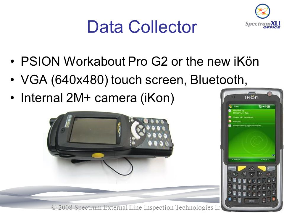 Data Collector PSION Workabout Pro G2 or the new iKön
