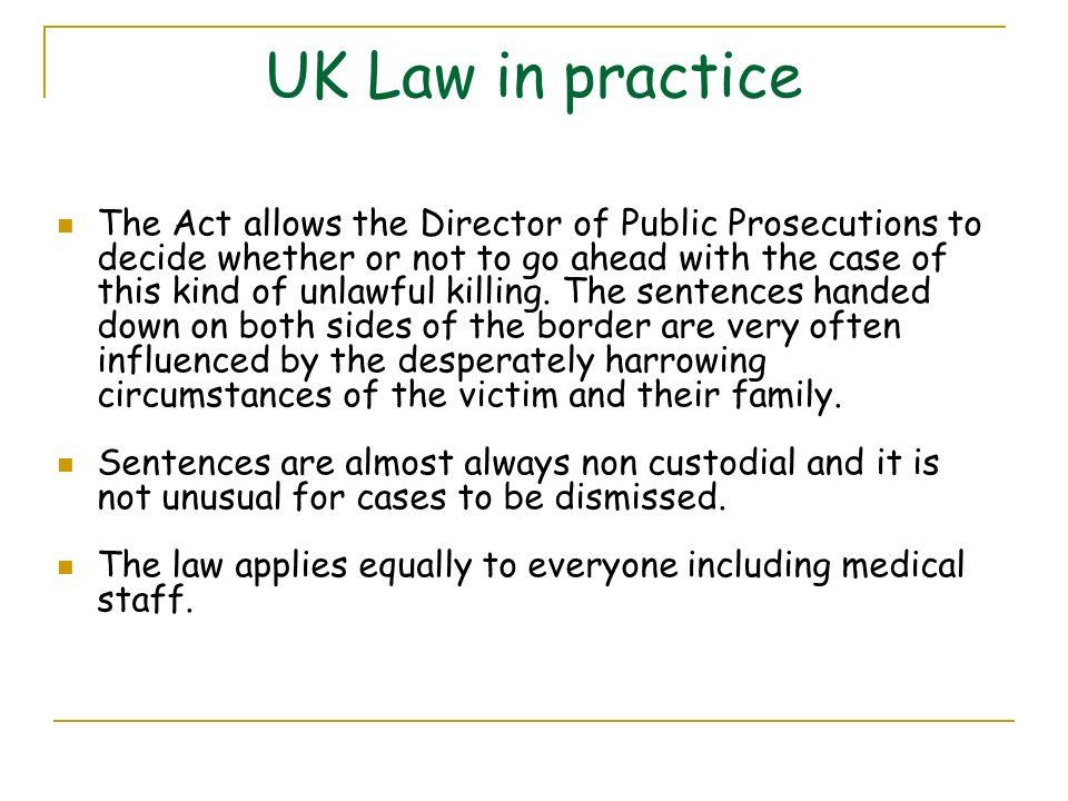UK Law in practice