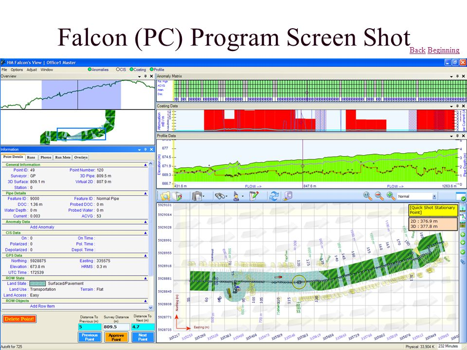Falcon (PC) Program Screen Shot