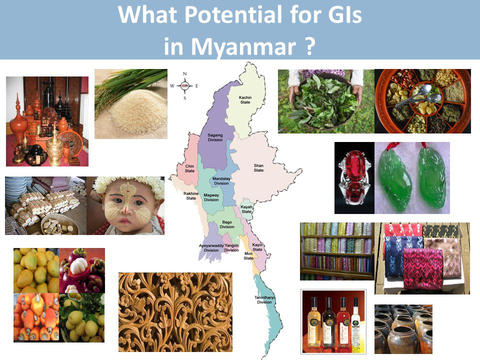 What Potential for GIs in Myanmar