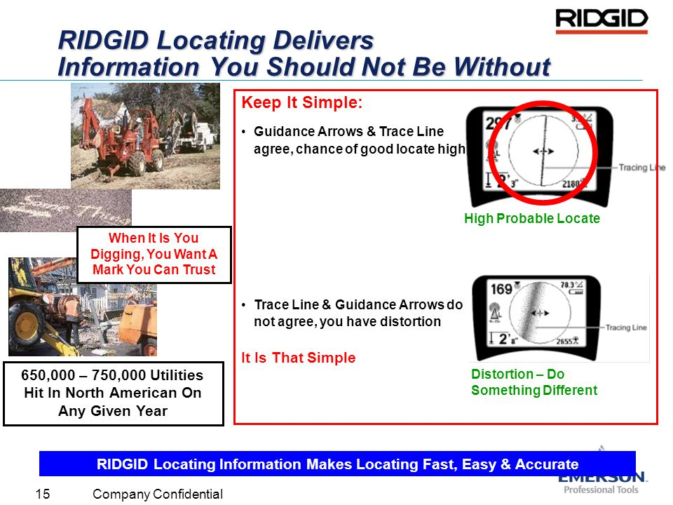 RIDGID Locating Delivers Information You Should Not Be Without