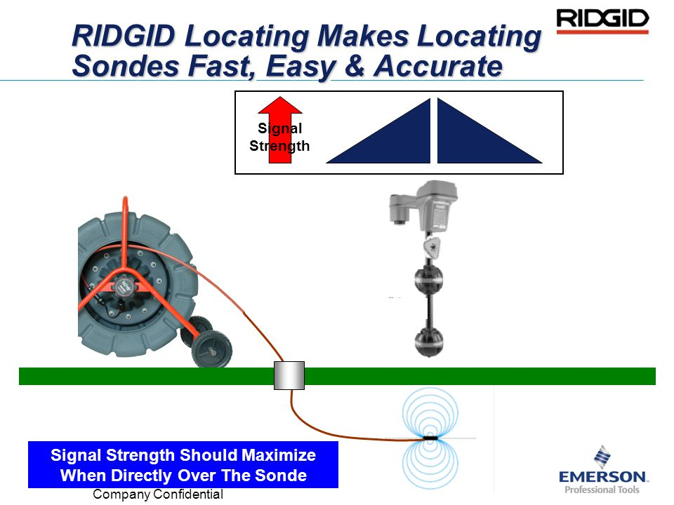 RIDGID Locating Makes Locating Sondes Fast, Easy & Accurate