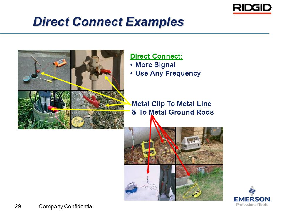 Direct Connect Examples