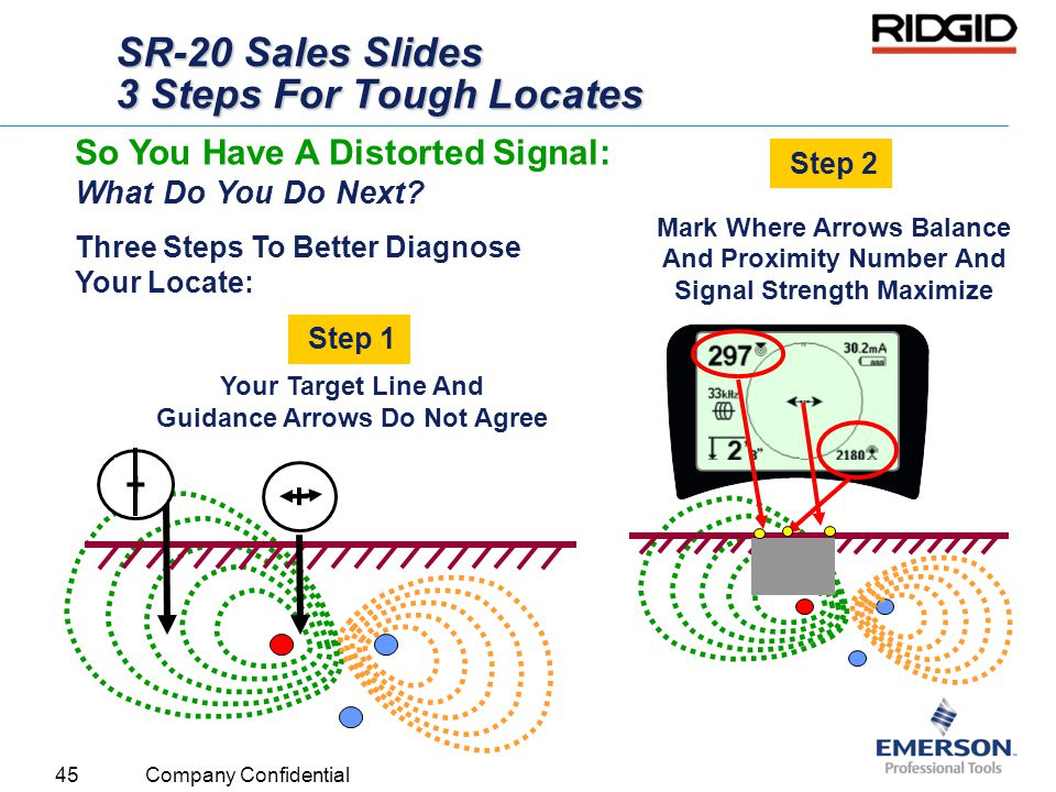 SR-20 Sales Slides 3 Steps For Tough Locates