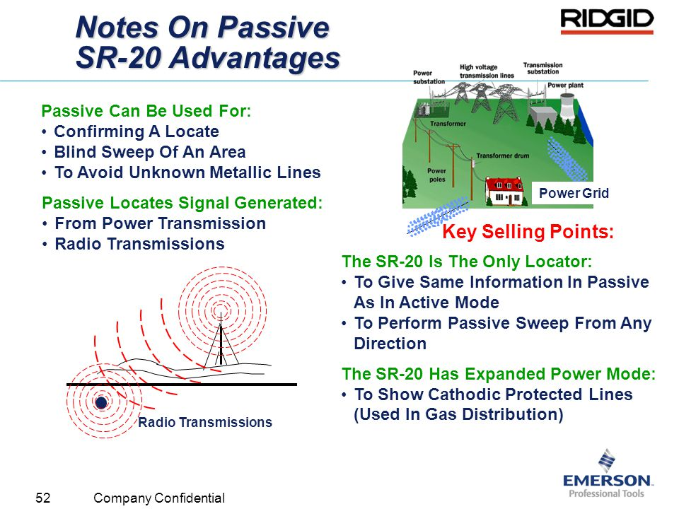 Notes On Passive SR-20 Advantages