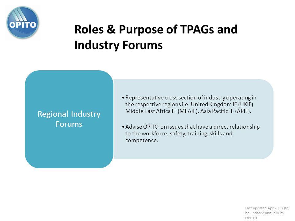 Regional Industry Forums