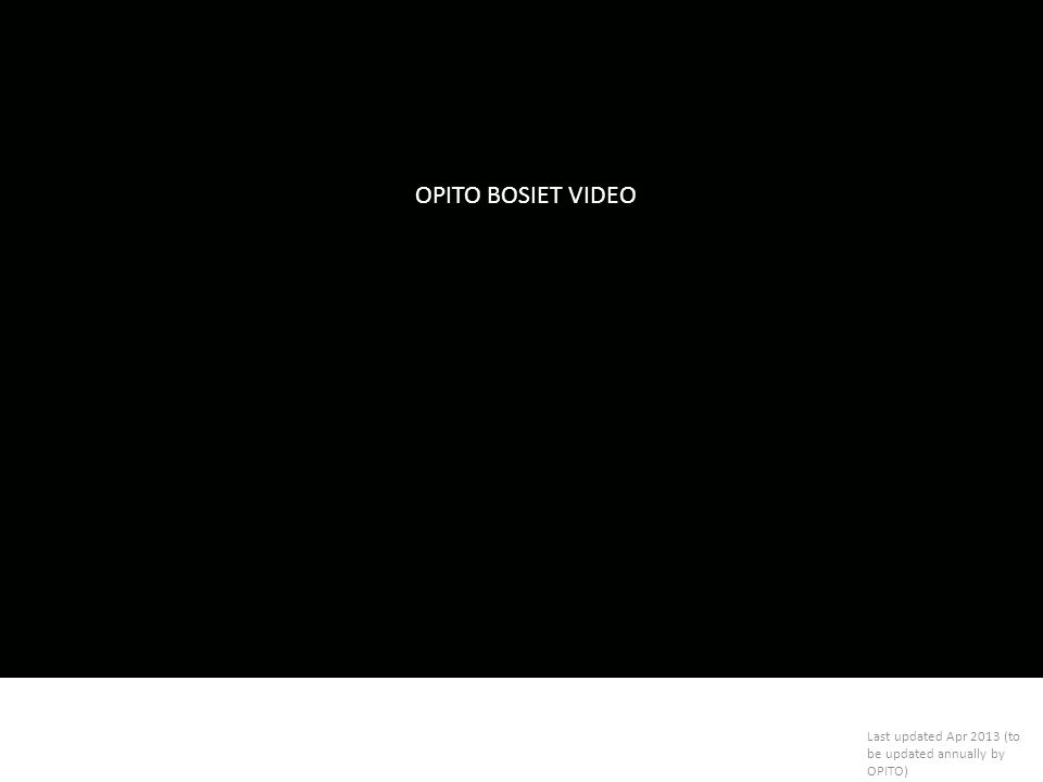 OPITO BOSIET VIDEO Introduction about OPITO