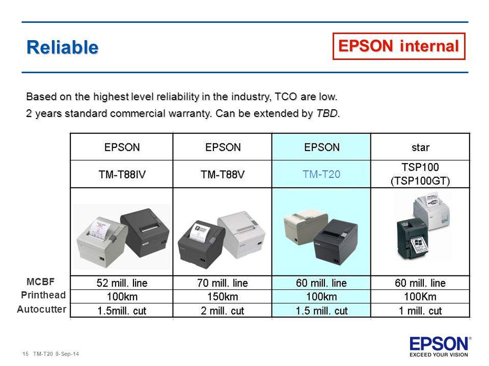 Reliable EPSON internal