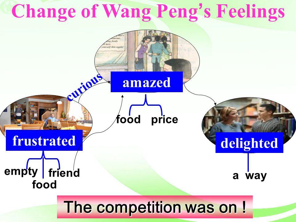 Change of Wang Peng's Feelings
