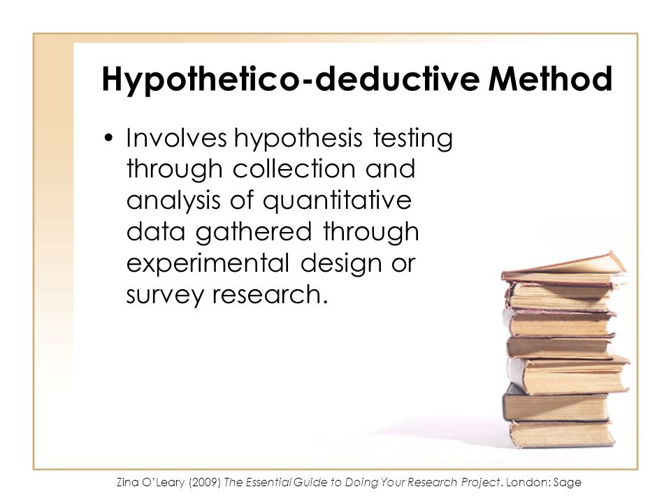 Hypothetico-deductive Method