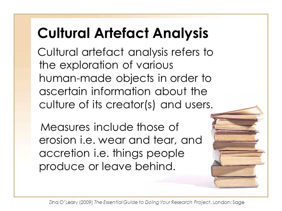 Cultural Artefact Analysis