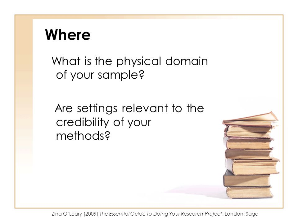 Where What is the physical domain of your sample
