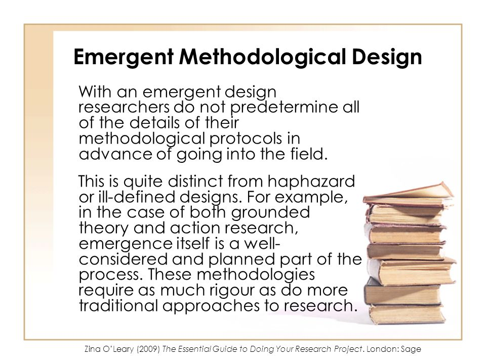 Emergent Methodological Design