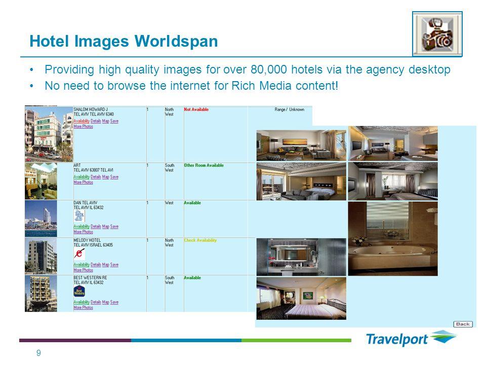 Hotel Images Worldspan