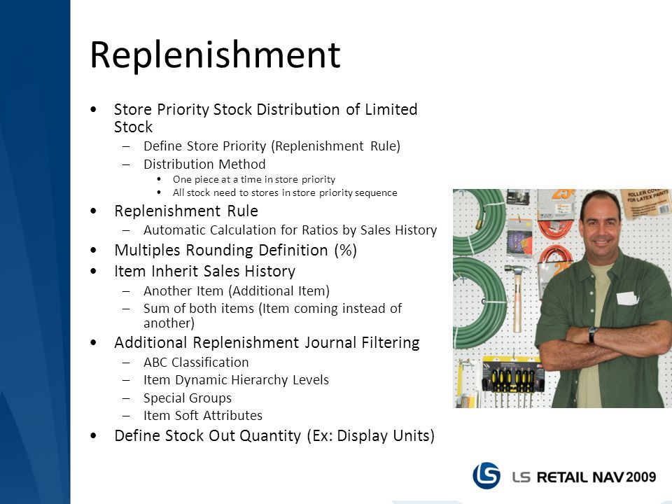 Replenishment Store Priority Stock Distribution of Limited Stock