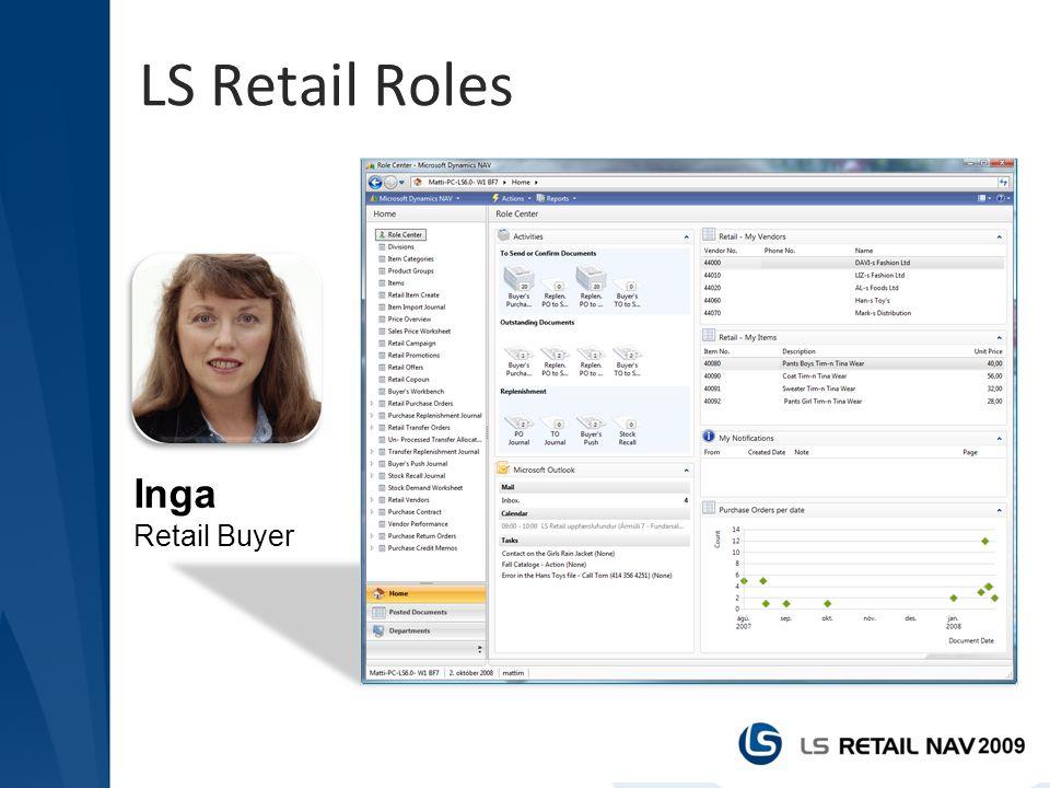 LS Retail Roles Inga Retail Buyer