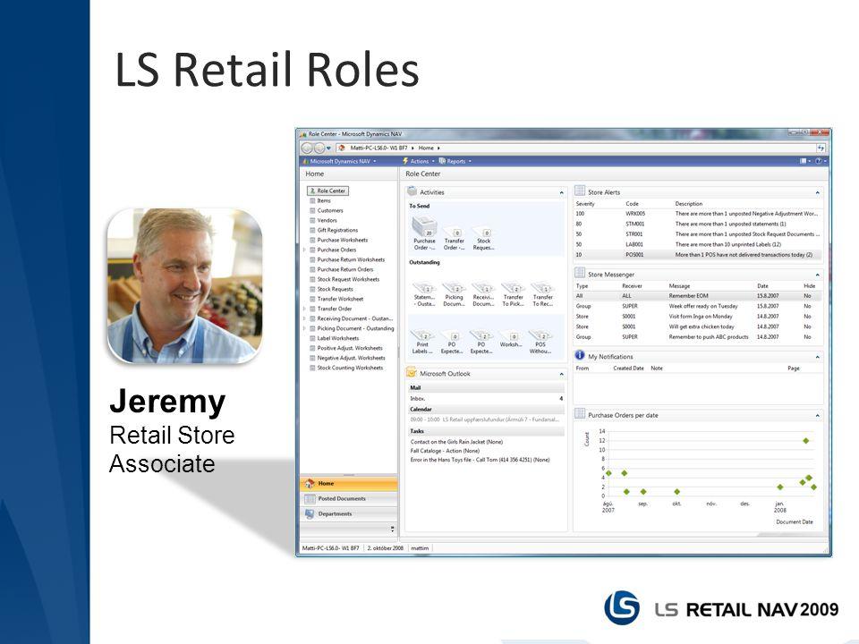 LS Retail Roles Jeremy Retail Store Associate