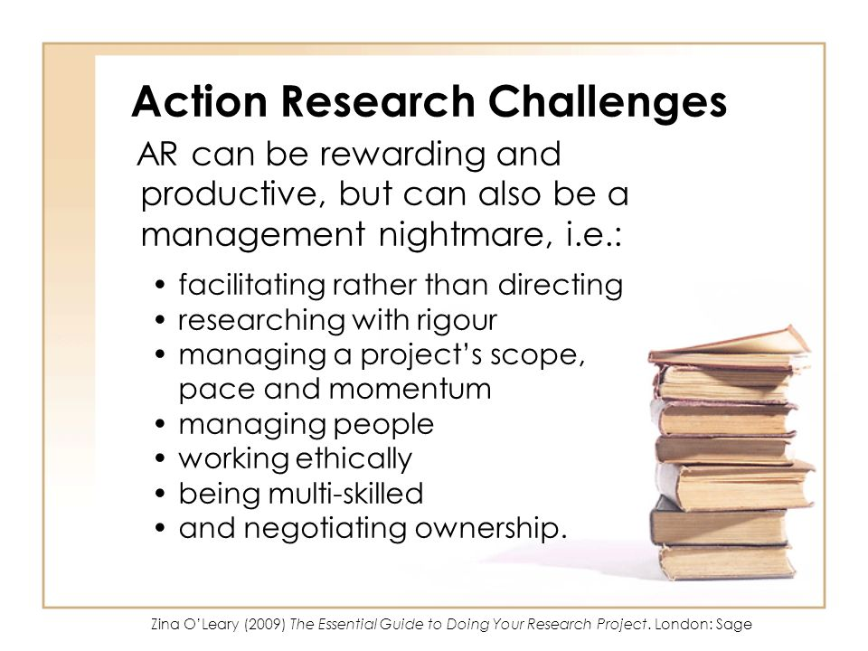 Action Research Challenges