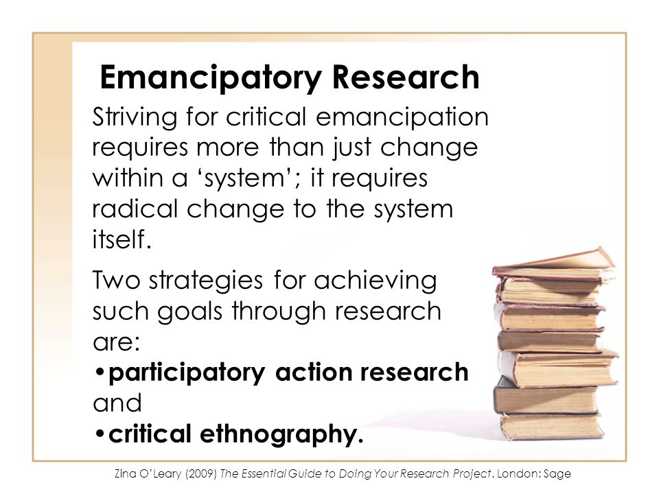 Emancipatory Research