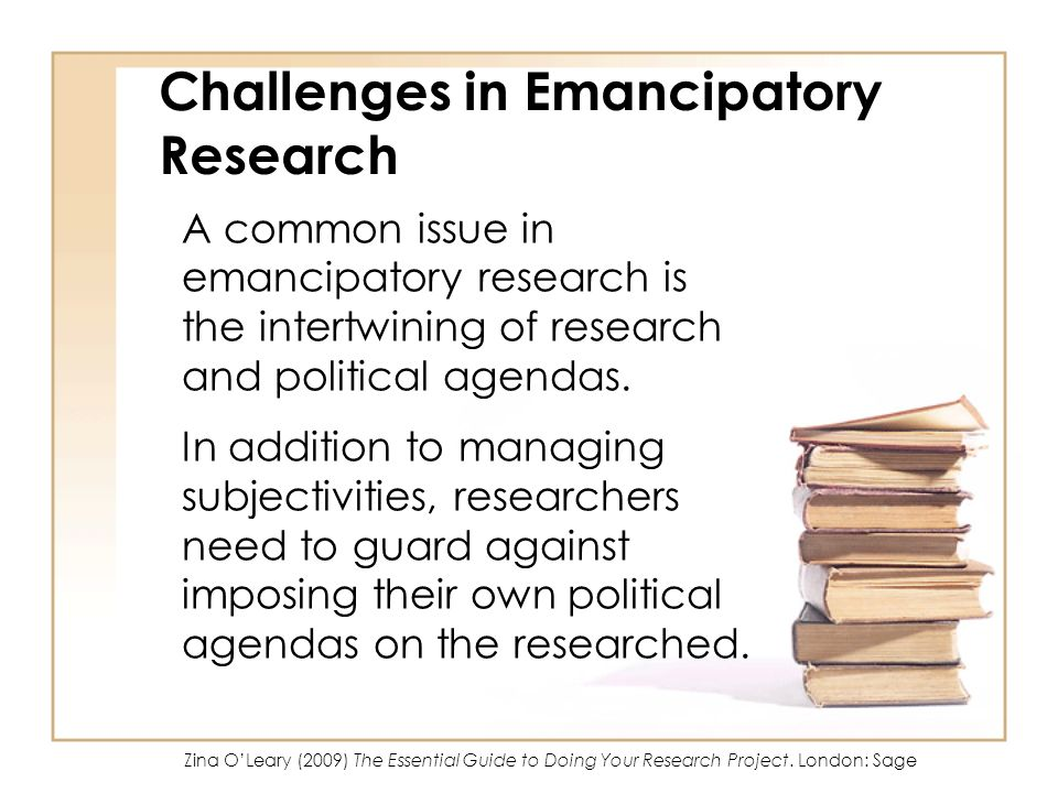 Challenges in Emancipatory Research