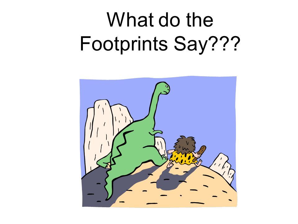 What do the Footprints Say