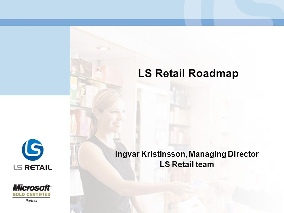 Ingvar Kristinsson, Managing Director LS Retail team