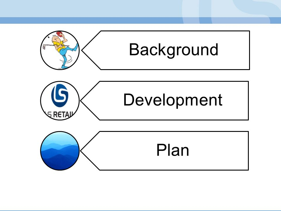 Background Development Plan