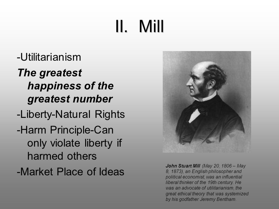 Mills utilitarianism sacrifice the innocent for