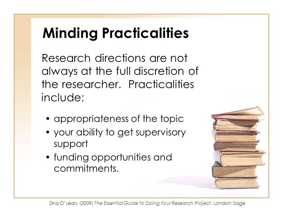 Minding Practicalities