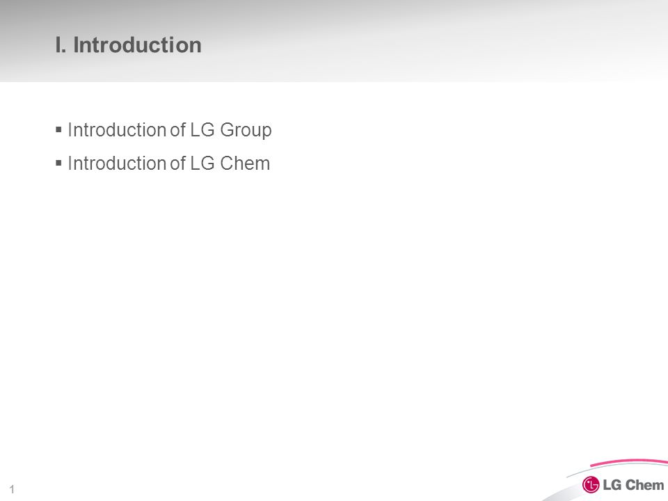 Introduction of LG Group