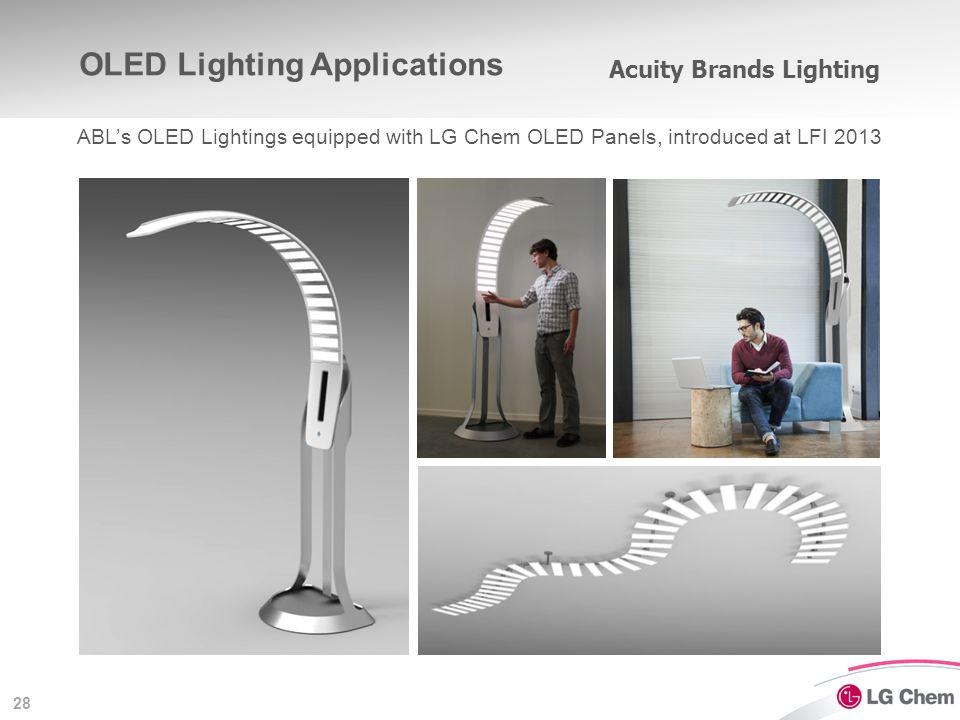 OLED Lighting Applications