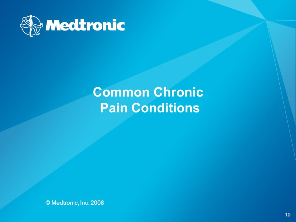 Common Chronic Pain Conditions
