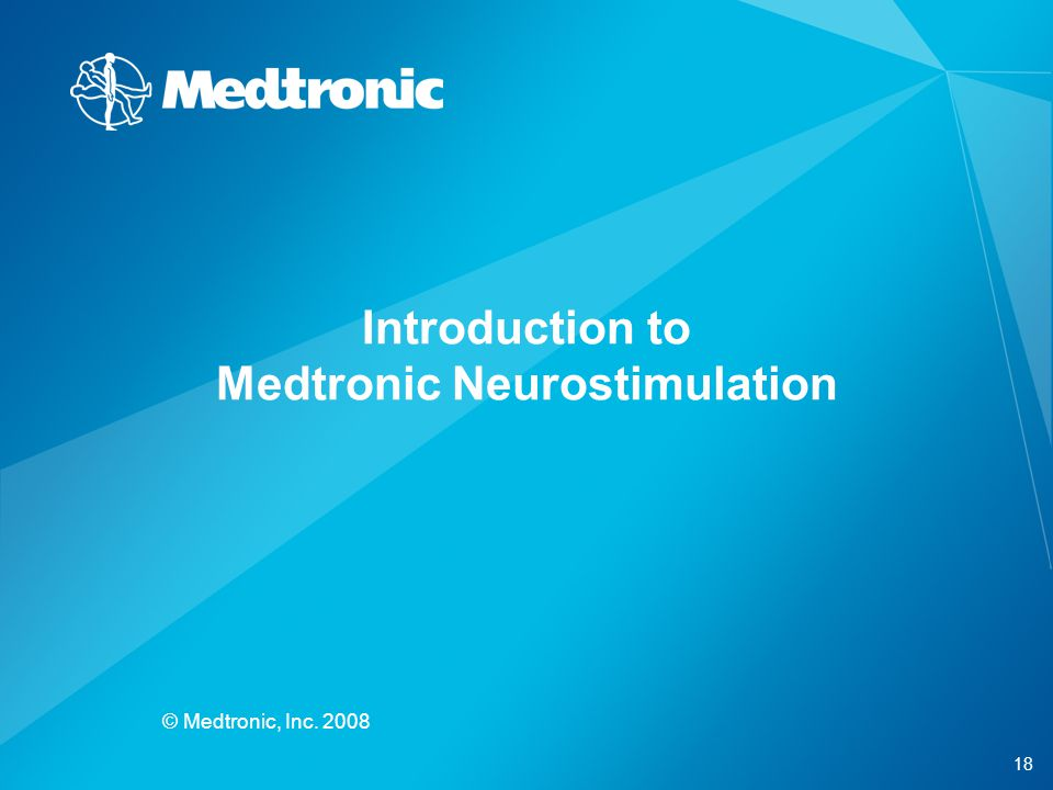 Introduction to Medtronic Neurostimulation