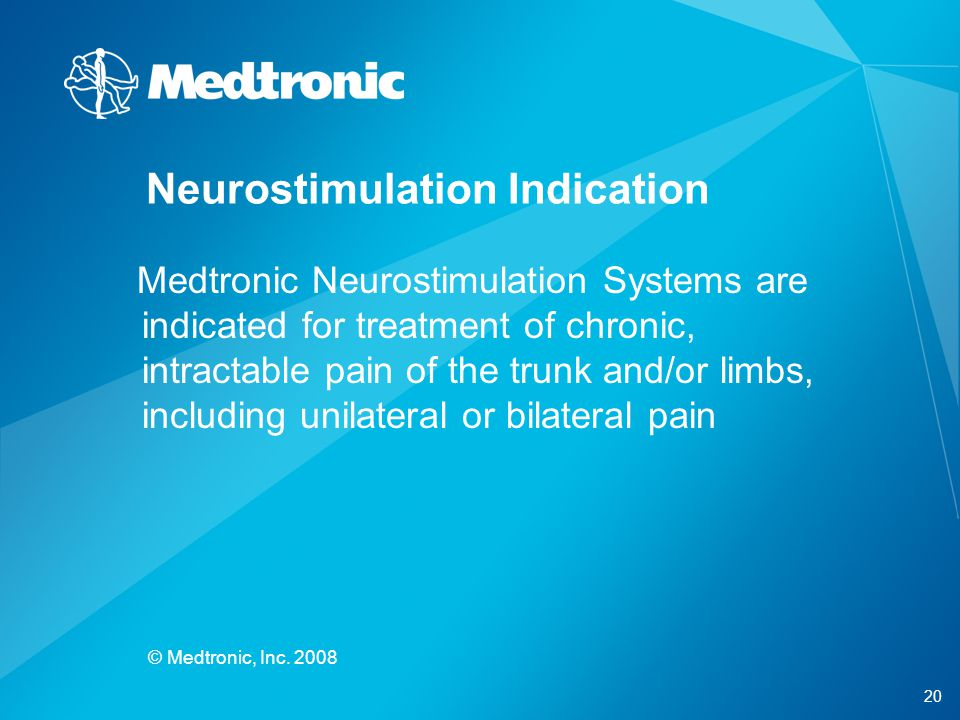 Neurostimulation Indication