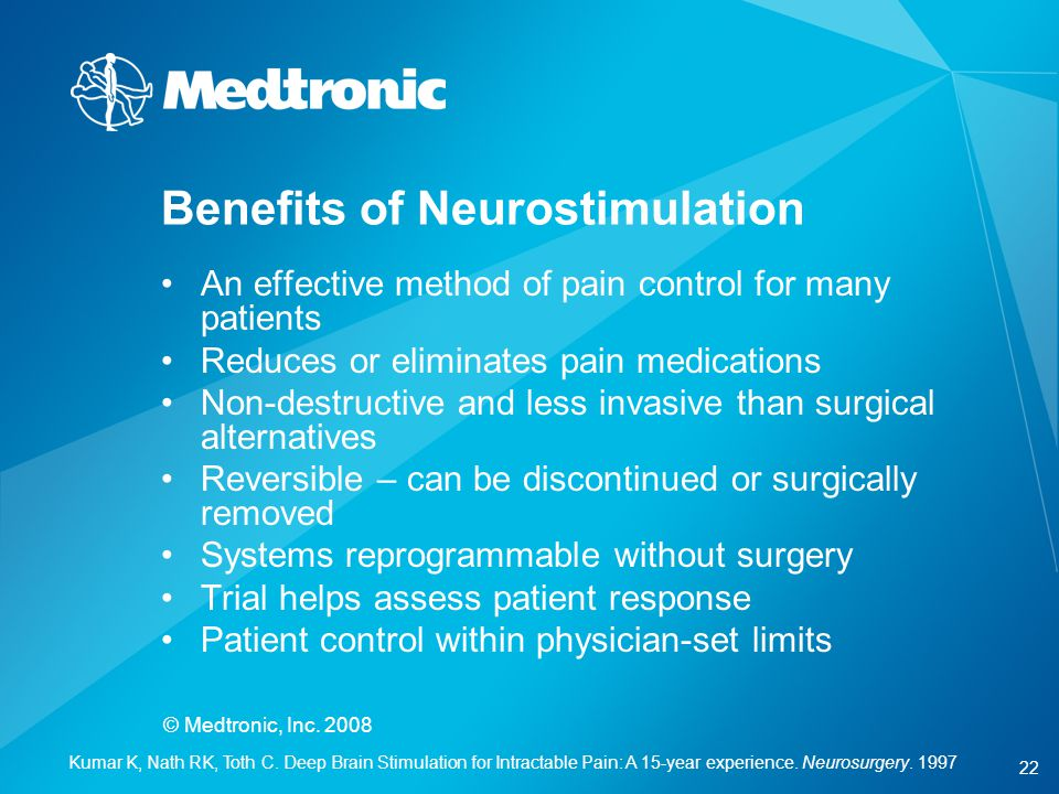 Benefits of Neurostimulation