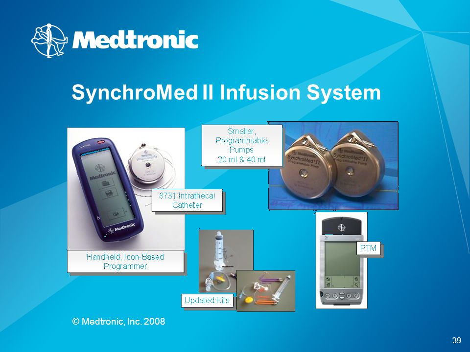 SynchroMed II Infusion System
