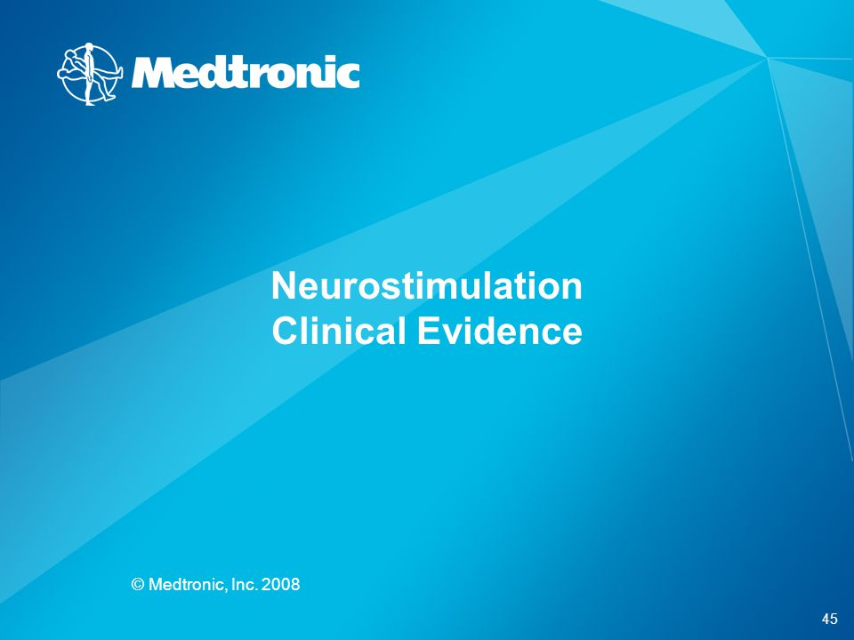 Neurostimulation Clinical Evidence