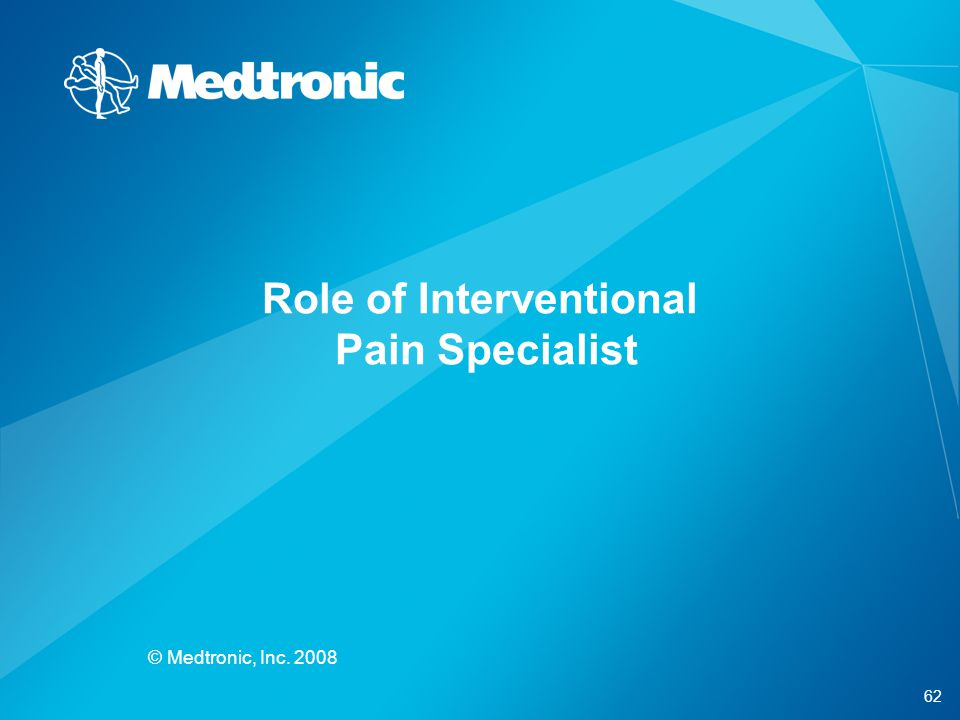 Role of Interventional Pain Specialist