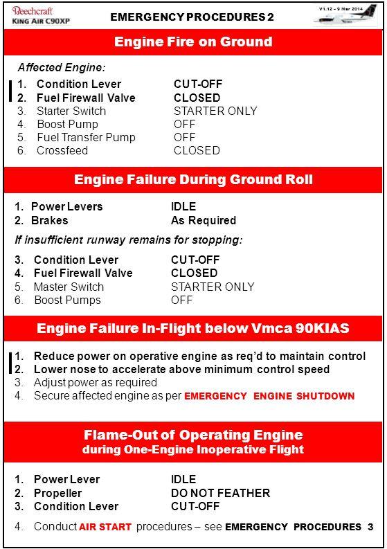 Engine Failure During Ground Roll