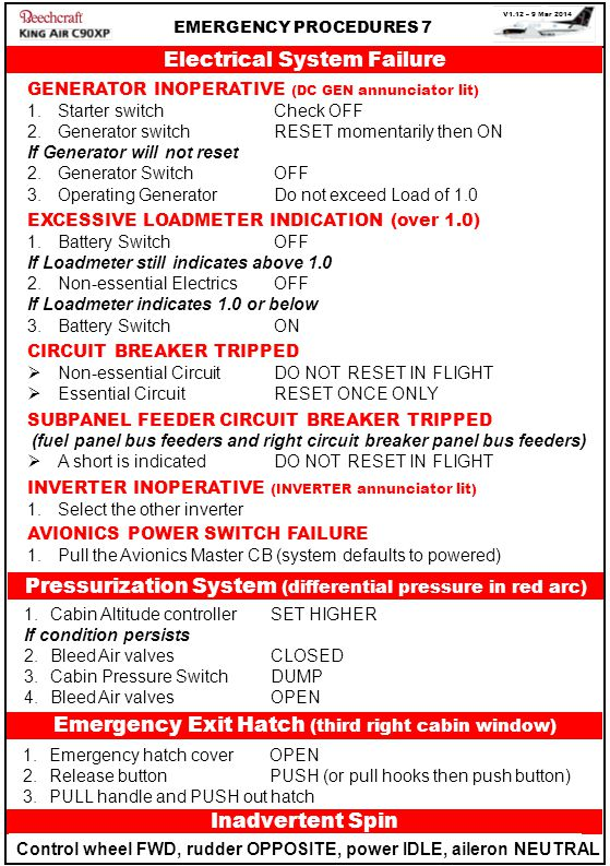 Electrical System Failure