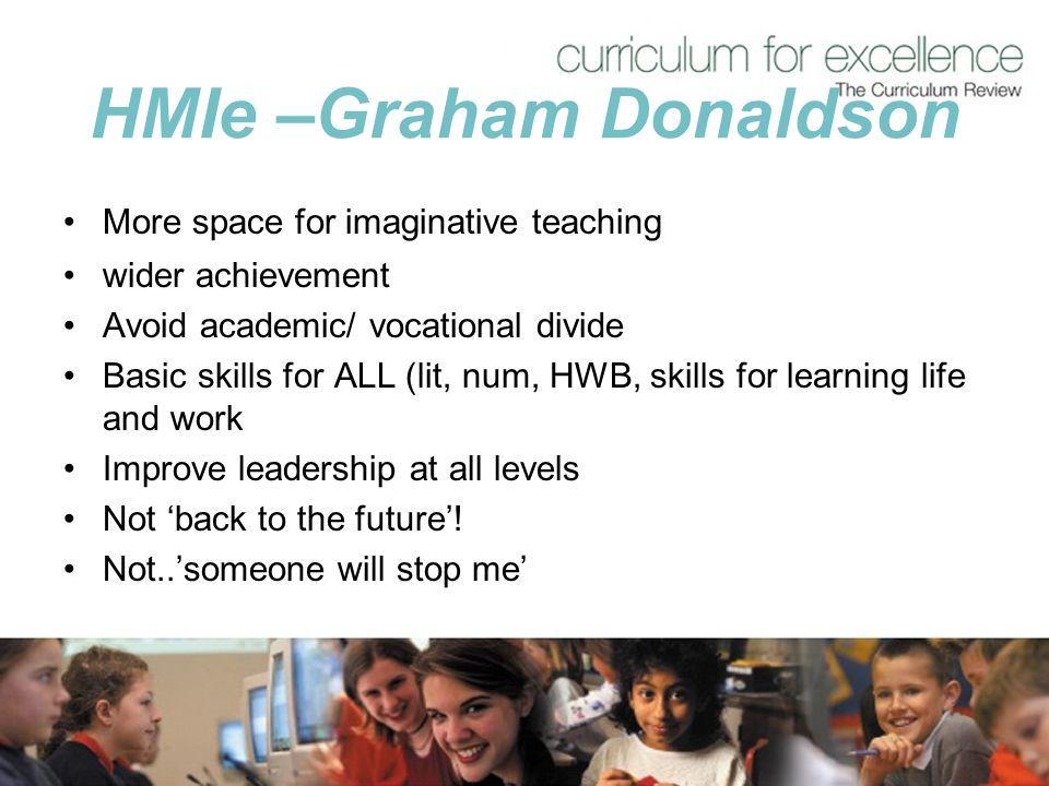 HMIe –Graham Donaldson