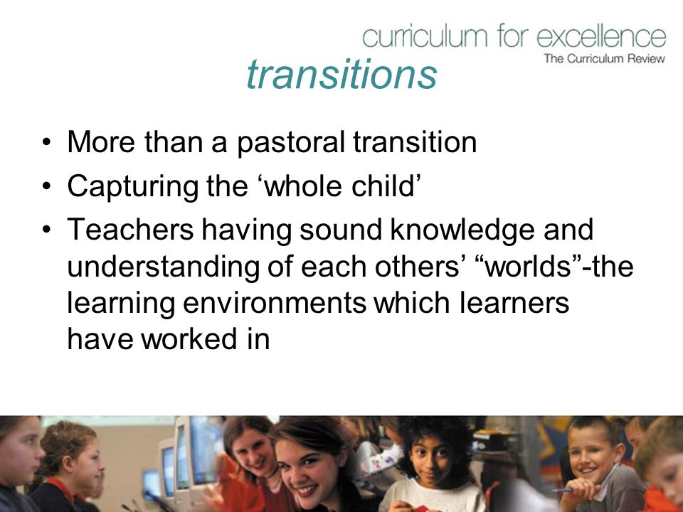 transitions More than a pastoral transition