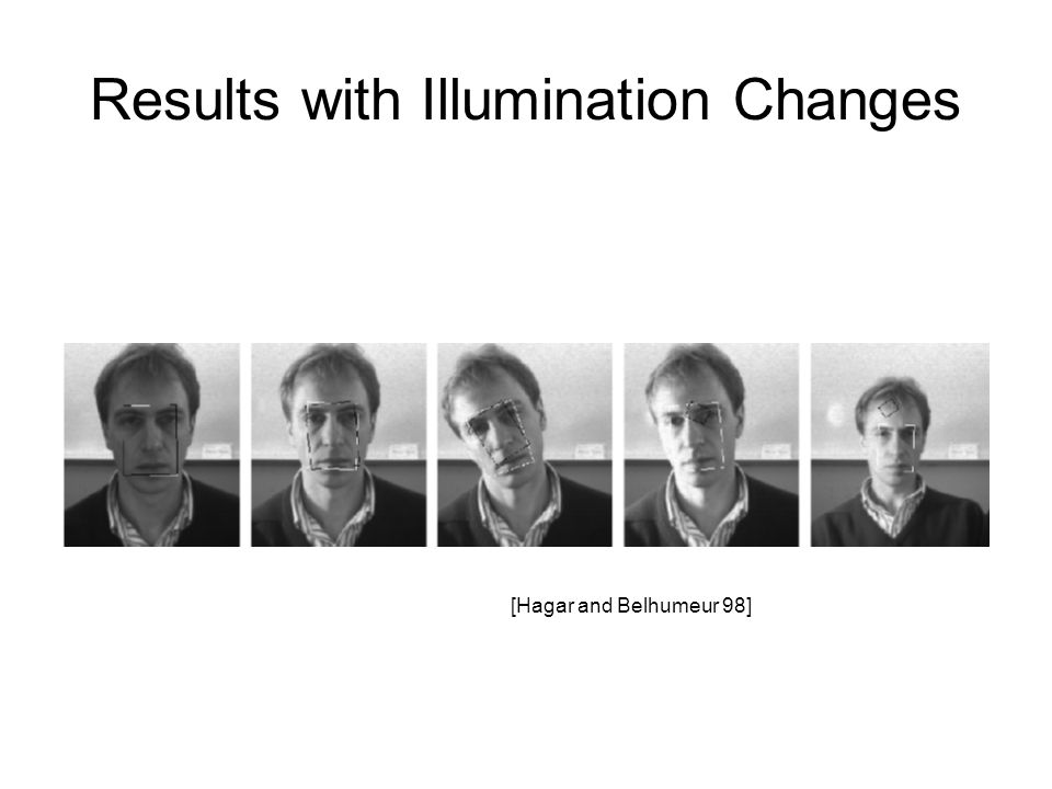 Results with Illumination Changes