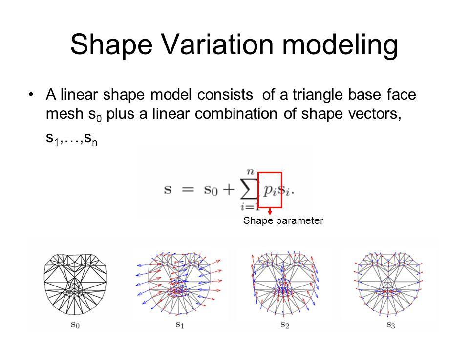 Shape Variation modeling