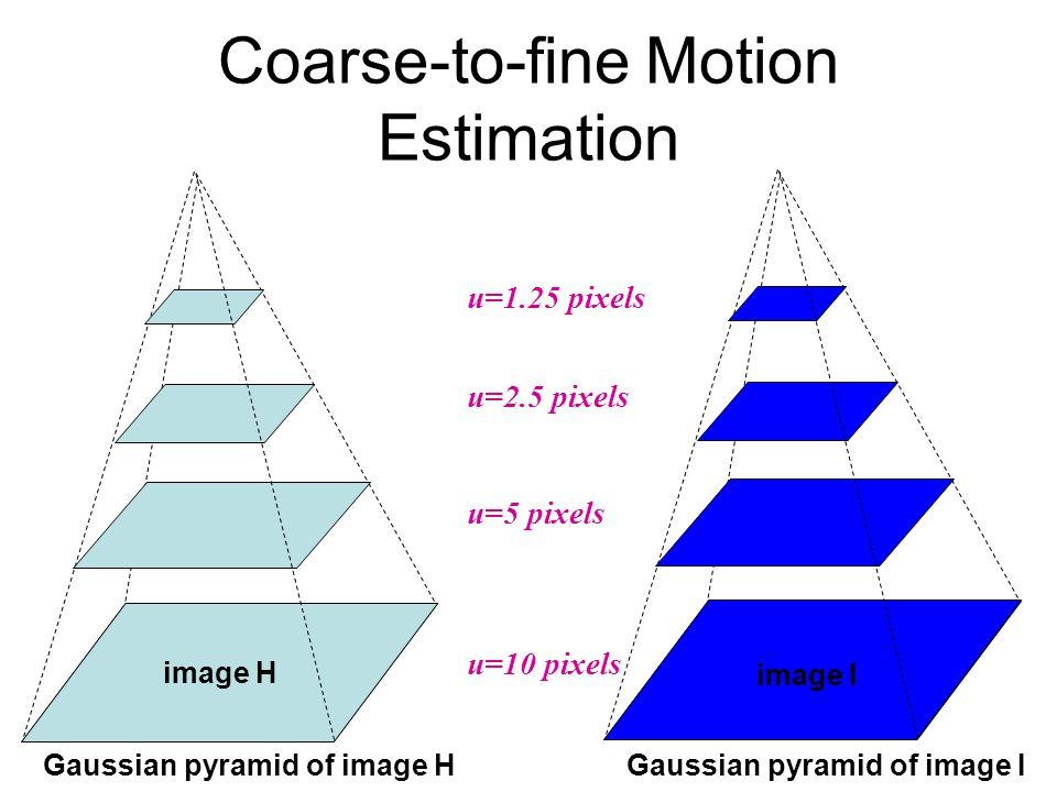 Coarse-to-fine Motion Estimation