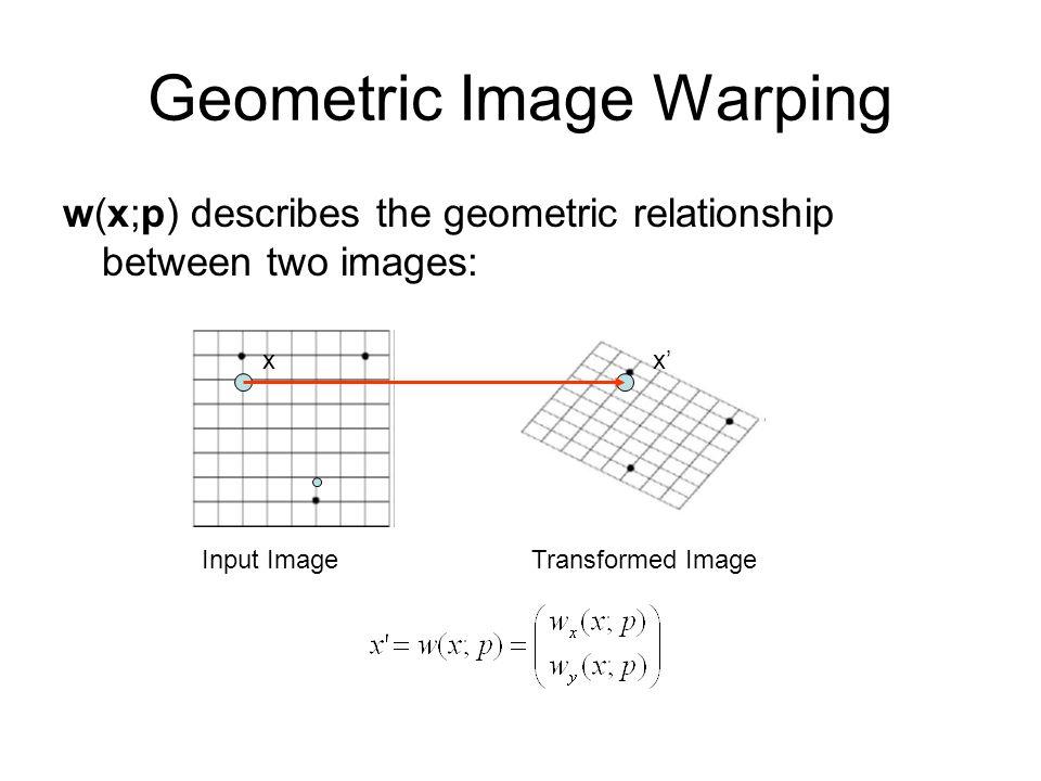 Geometric Image Warping