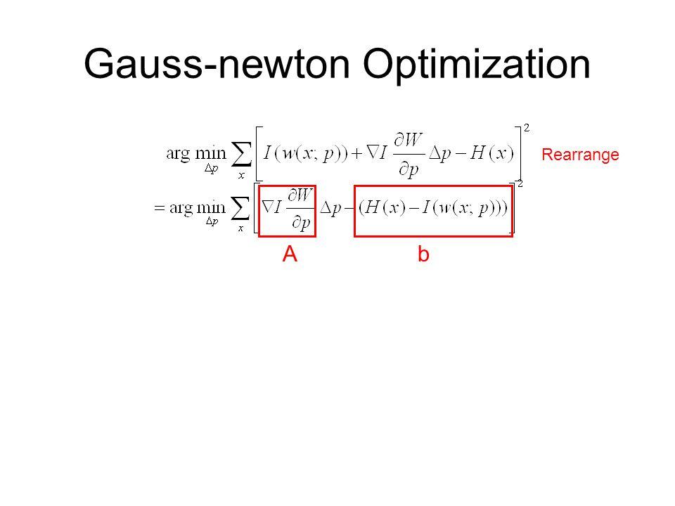 Gauss-newton Optimization